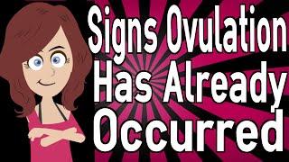 getlinkyoutube.com-Signs Ovulation Has Already Occurred