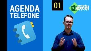 Como fazer uma agenda telefônica no Excel | Parte I