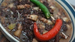 Paano magluto Dinuguan Recipe  - Pigs Blood Stew - Tagalog Pinoy Filipino