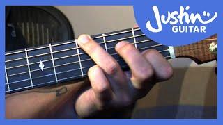 getlinkyoutube.com-Fingerstyle Major Chord Scale Relations - Folk Guitar Lesson - JustinGuitar [FO-104]