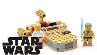 "getlinkyoutube.com-Lego Star Wars: ""Landspeeder"" (7110) | LegoŚwiat"