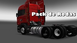 getlinkyoutube.com-Euro Truck Simulator 2 - Pack de rodas 1.22