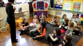 A day in the life of a Pre-Kindergarten Student at Trinity Catholic School