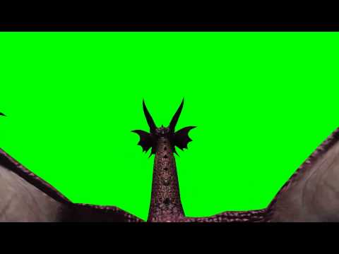 flying Dragon - green screen effects