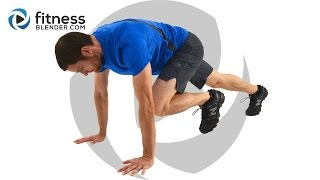 getlinkyoutube.com-15 Minute HIIT Metabolism Booster - Total Body and Abs HIIT Workout