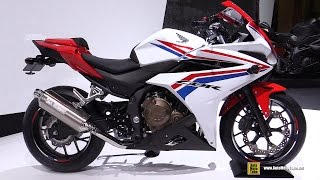 getlinkyoutube.com-2016 Honda CBR400R ( CBR500RR ) - Walkaround - 2015 Tokyo Motor Show