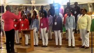 getlinkyoutube.com-Seigneur de la dance- La voix des jeunes de Sainte Barbe (Port-Gentil)