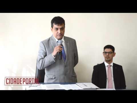 Dr. Cristian Palharini Martins. Juiz da 92º Zona Eleitoral de Goioerê