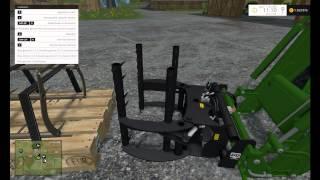 getlinkyoutube.com-Présentation de Mods/Farming Simulator 2015 / Pak D'outil pour Chargeur CSZ