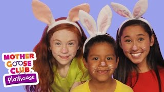getlinkyoutube.com-The Finger Family | The Rabbit Family | Mother Goose Club Playhouse Kids Video