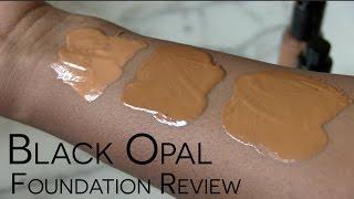 Review & Demo: Black Opal True Color Liquid Foundation