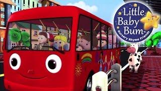 getlinkyoutube.com-Wheels On The Bus | Part 2 | Nursery Rhymes | LittleBabyBum!