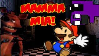 getlinkyoutube.com-Si Mario estuviera en Freddy Fazbear Pizza