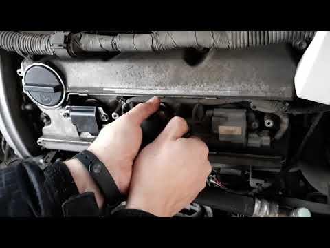 Замена наконечников катушек переднего ряда NissanCefiro A32