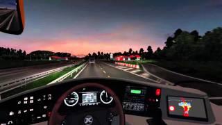 getlinkyoutube.com-Euro Truck Simulator 2 Bus trip to Calais with SETRA S416GT-HD
