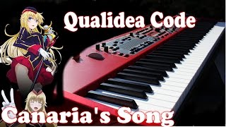 Qualidea Code - Canaria's Song / Time to go クオリディア・コード OST (Episode 1 and 3) Piano Cover Full