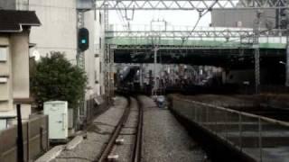getlinkyoutube.com-小田急電鉄快速急行前面展望10/10 代々木上原~新宿