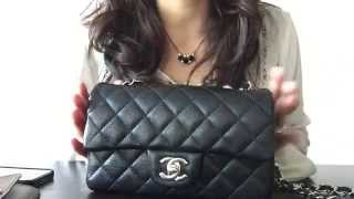 getlinkyoutube.com-Whats in my Bag - Chanel Mini Flap