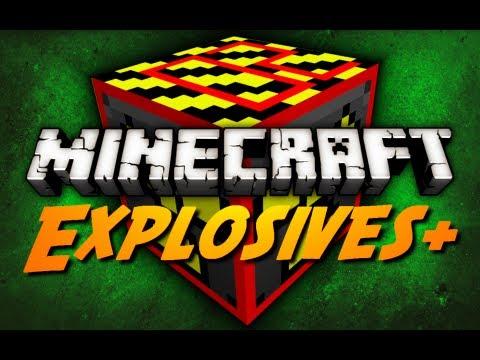 Minecraft: Explosives+ Mod - Pt. 2 (Sticky TNT, Mega Nuke, Nova & Genesis Bomb)