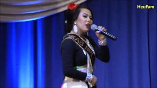 Merced Hmong New Year 2015-2016: Pageant - Intro Round - Kab Nplias Lis