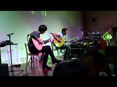 (U2) With Or Without You -  Sungha Jung & Trace Bundy