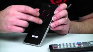 getlinkyoutube.com-2.4G Wireless Mini Keyboard with Trackpad Mouse + IR Learning Remote