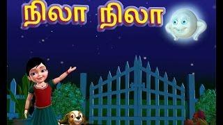 getlinkyoutube.com-Nila Nila Odi Vaa - Tamil Rhymes 3D Animated