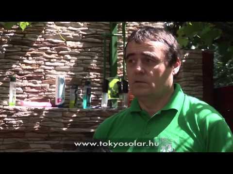 TokyoSolar napkollektor vélemény rendszer tapasztalatok  Liszi István, Budapest