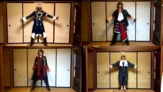 getlinkyoutube.com-【刀剣乱舞】コスプレで踊ってきた『GENTLEMAN』を比較してみた【ちひろ】