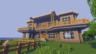getlinkyoutube.com-Minecraft Villa bauen TUT