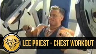 "getlinkyoutube.com-Lee priest ""Chest Workout"""