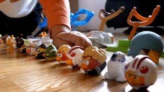 getlinkyoutube.com-Angry Birds !   several sets FUN  !! Star Wars - Fight at Tatooine