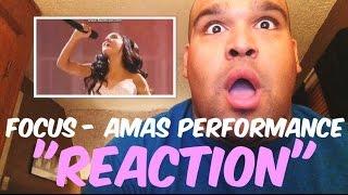 getlinkyoutube.com-Ariana Grande - Focus AMAs Performance 2015 [REACTION]