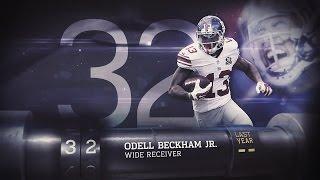 getlinkyoutube.com-#32 Odell Beckham (WR, Giants) | Top 100 Players of 2015