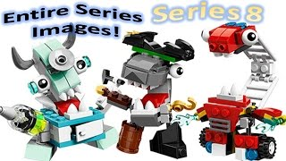 getlinkyoutube.com-HD LEGO Mixels SERIES 8 IMAGES! Entire Series Clear!