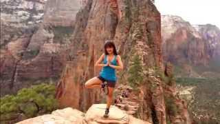 getlinkyoutube.com-Zion National Park - Angels Landing hike - The best view!!