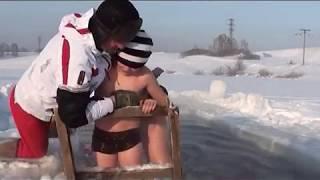 getlinkyoutube.com-Полысаево  волшебная прорубь 2012 -2