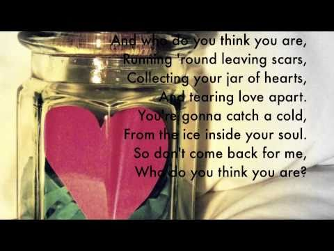 Jar of Hearts - Christina Perri with Lyrics -igOq2bGaJ7s