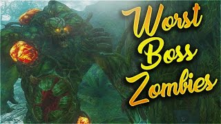 getlinkyoutube.com-Top 10 Worst Boss Zombies in Call of Duty Zombies! (Black Ops 1 - Black Ops 3 Zombies)