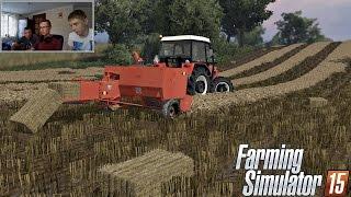 getlinkyoutube.com-Farming Simulator 2015 Let's Play #15 ☆ Prasowanie & Odpowiedzi & Kamerka ㋡ Miki Bronczek MafiaSolec