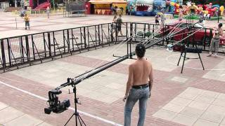 getlinkyoutube.com-MONSTER ICG: Jib set-up and pre-shot test (time-lapse)
