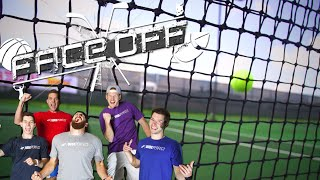 getlinkyoutube.com-Dude Perfect Roller Skating Tennis | FACEOFF