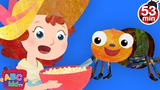 getlinkyoutube.com-Little Miss Muffet | + More Nursery Rhymes & Kids Songs - ABCkidTV
