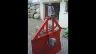 getlinkyoutube.com-Fabrication treuil forestier