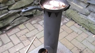 How to build a Portable Rocket Stove mk2 - Easy Welding Projects