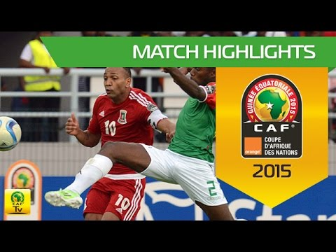 Equatorial Guinea vs Burkina Faso AFCON 2015