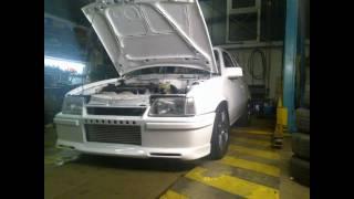 getlinkyoutube.com-Weißer Kadett Turbo (Rückblick 2010) C20let FWD 670HP Astra Mk2