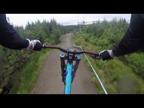 Downhill MTB GoPro footage through Scottish Highlands