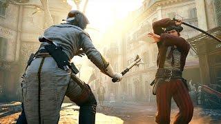 getlinkyoutube.com-Assassin's Creed Unity Catacomb Raider Rampage with Master Arno