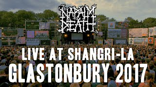 Napalm Death Live @ Shangri-La, Glastonbury 2017 (Full Set)